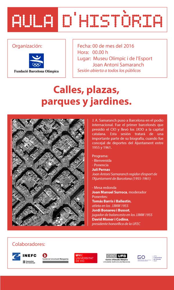 FBO Aulahistoria Calles Plazas ESP